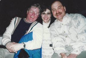 Gerry Gussack (right) with Larry & Geri Reed